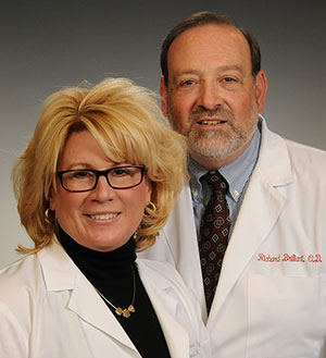 Low Vision Specialists, Dr. Georgia Crozier and Dr. Richard Brilliant
