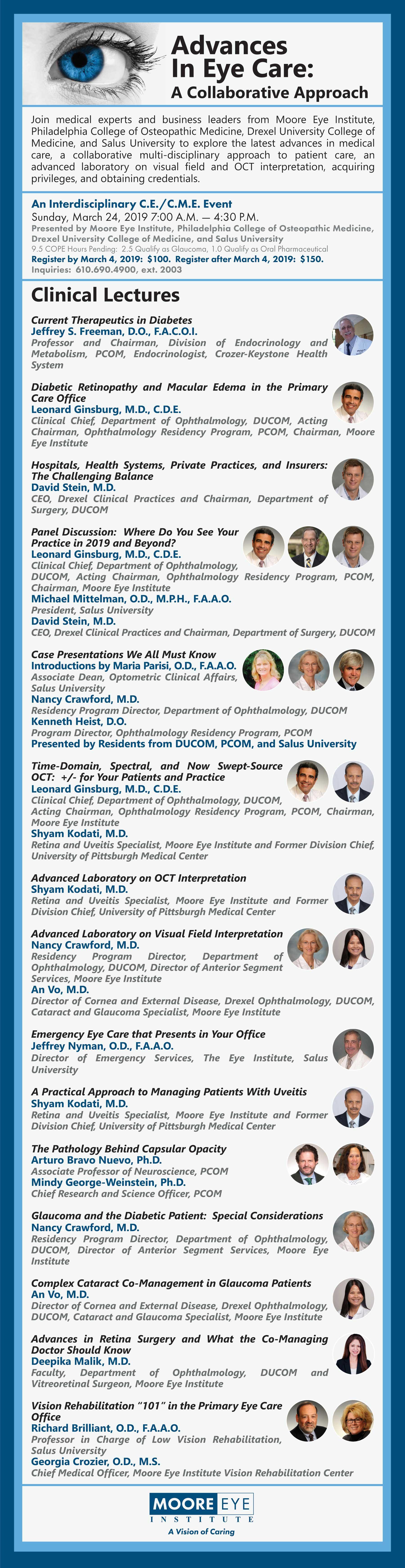 Advances in Eye Care: A Collaborative Approach Program