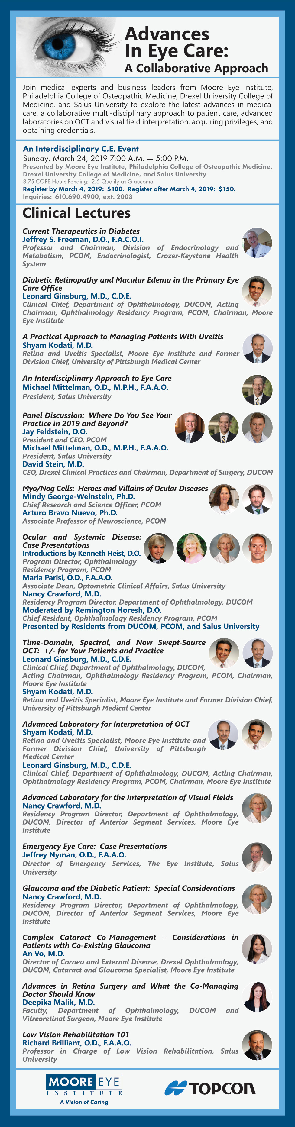 Advances in Eye Care Program