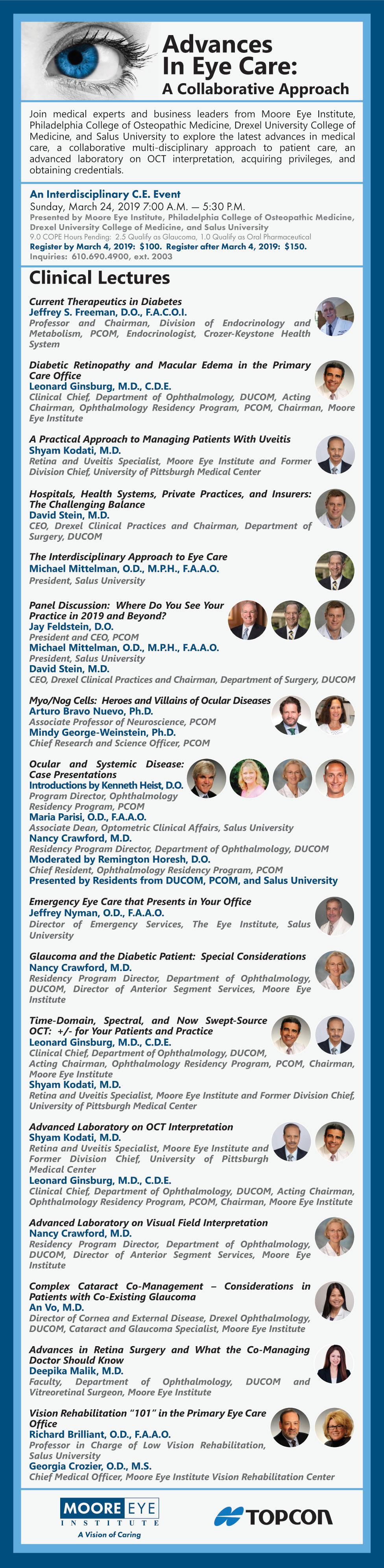 Program for Advances in Eye Care